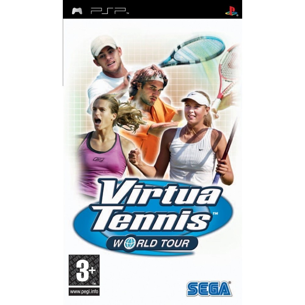 VIRTUA TENNIS WORLD TOUR PSP FR OCCASION