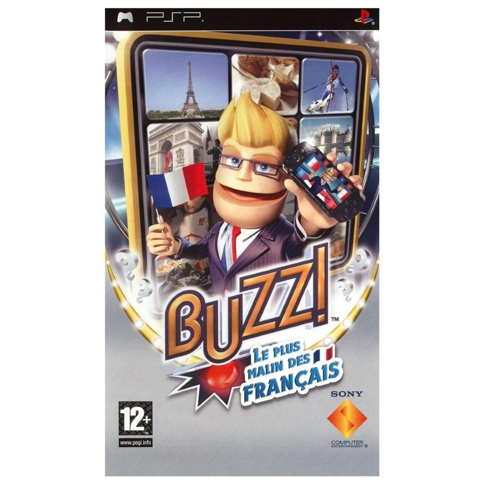 BUZZ!: LE PLUS MALIN DES FRANCAIS PSP FR OCCASION