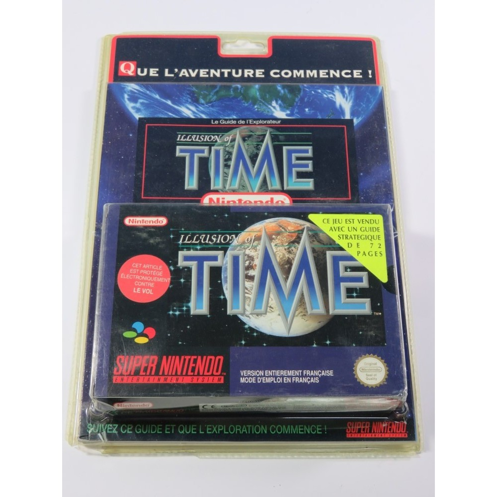 ILLUSION OF TIME (BLISTER RIGIDE + GUIDE) SNES PAL-SFRA NEW