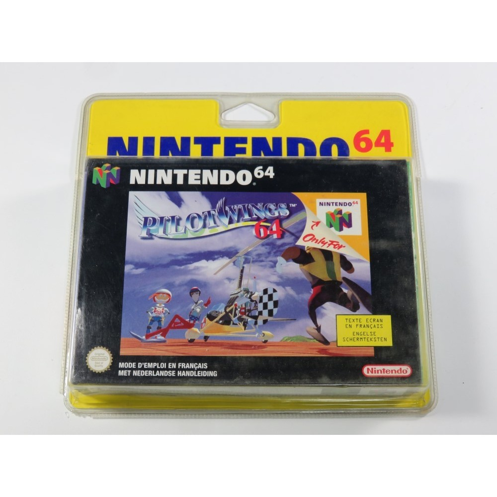 PILOTWINGS (BLISTER RIGIDE) N64 PAL-FAH NEW