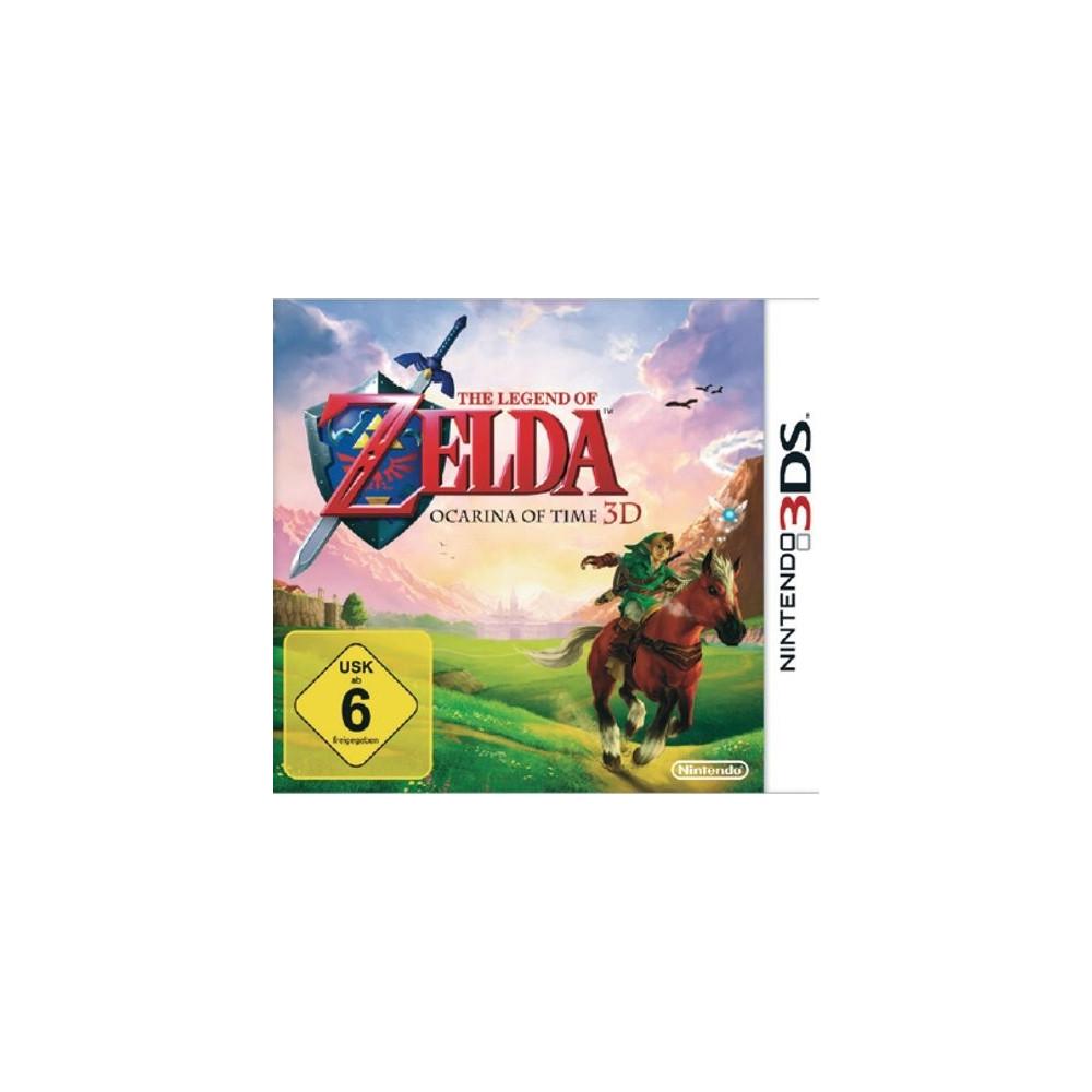THE LEGEND OF ZELDA OCARINA OF TIME 3DS DE (JEU EN FR) OCCASION