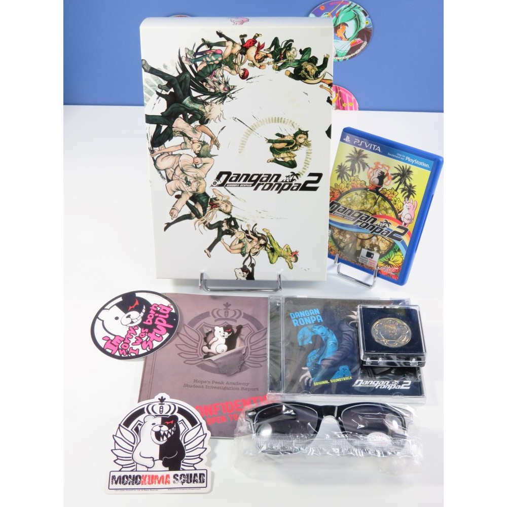 DANGANRONPA 2 - GOODBYE DESPAIR LIMITED EDITION PSVITA USA OCCASION