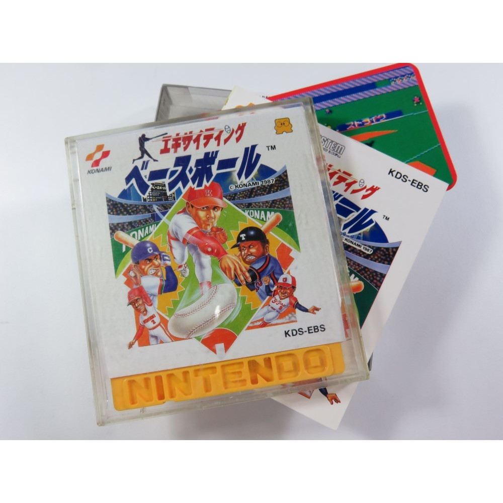 EXCITING BASEBALL DISK SYSTEM NTSC-JPN OCCASION (KONAMI 1987)