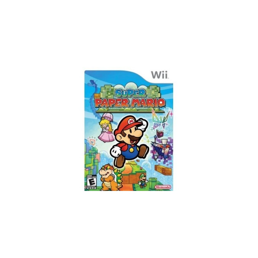 SUPER PAPER MARIO WII NTSC-USA (COMPLET)
