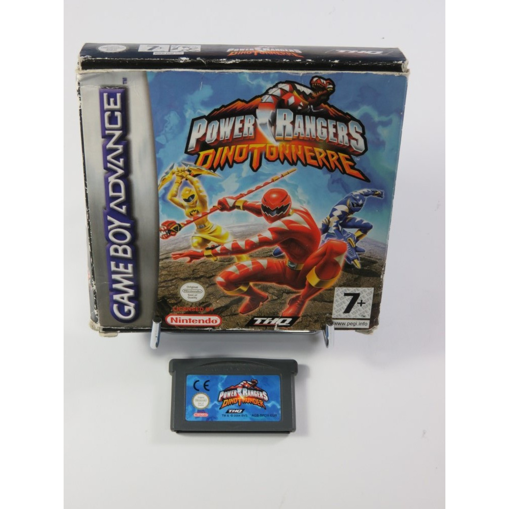 POWER RANGERS - DINO TONNERRE GBA FRA OCCASION (SANS NOTICE)