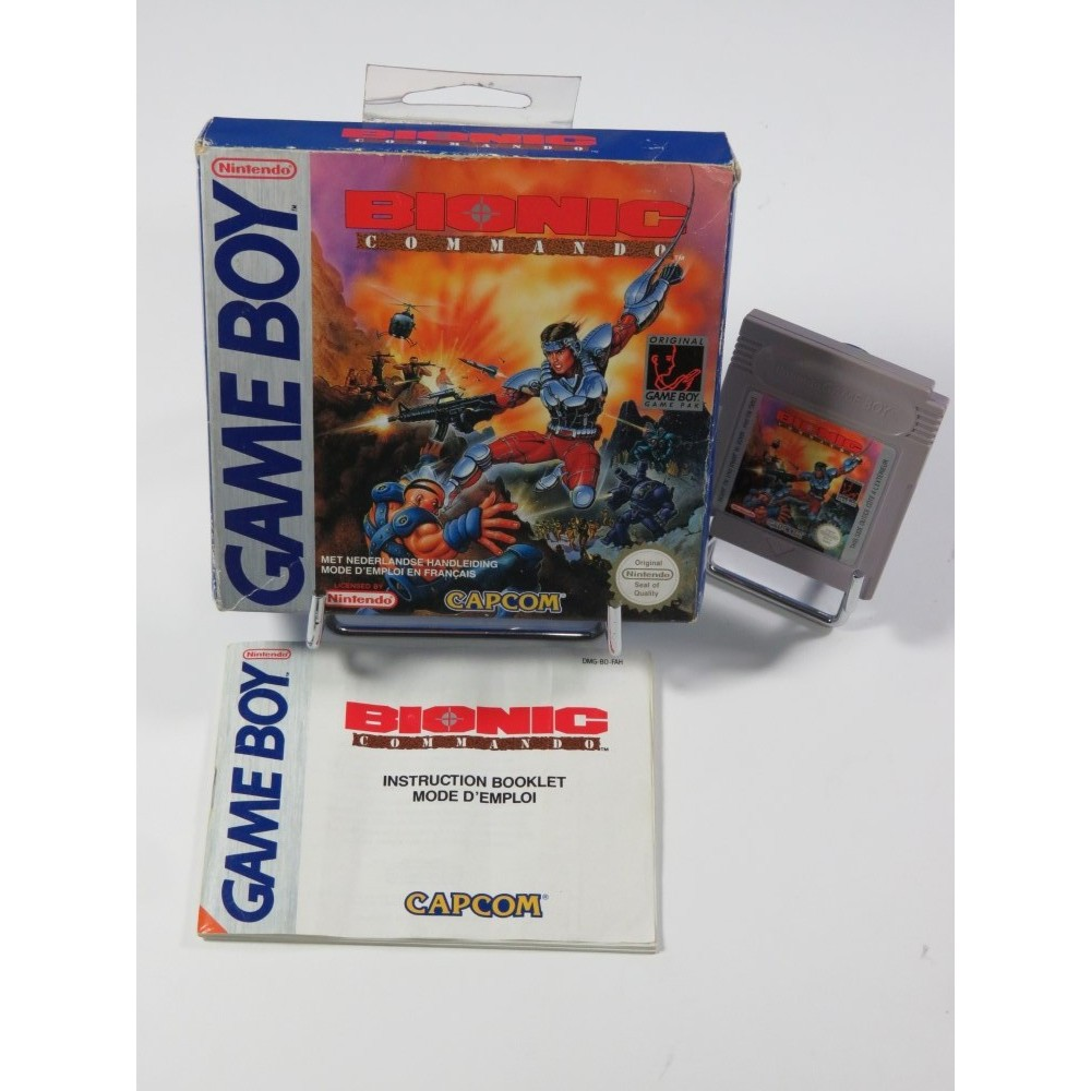 BIONIC COMMANDO GAMEBOY FAH OCCASION