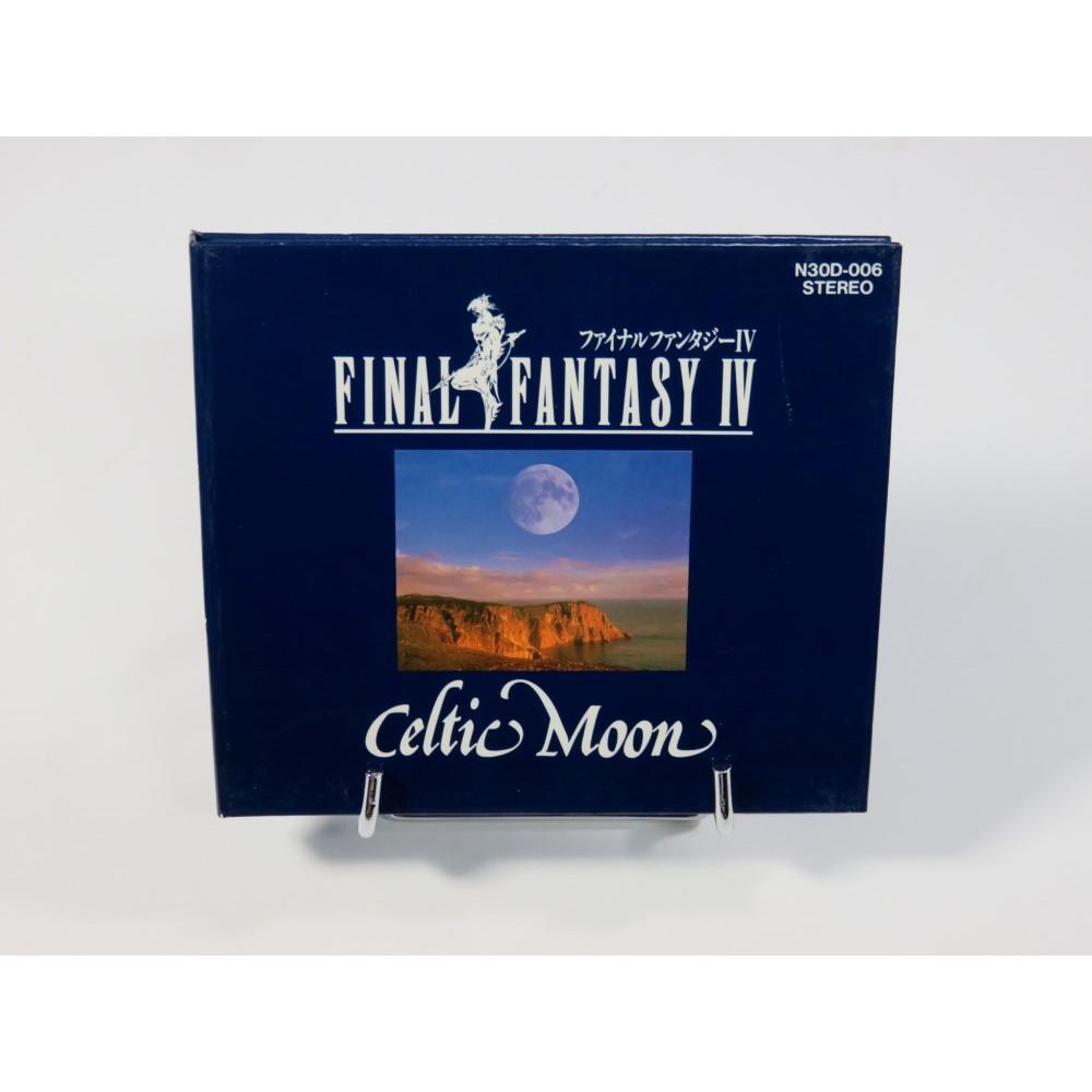 FINAL FANTASY IV - CELTIC MOON (FIRST PRINT) OST JPN OCCASION