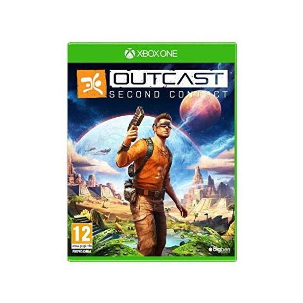 OUTCAST SECOND CONTACT XBOX ONE FR OCCASION