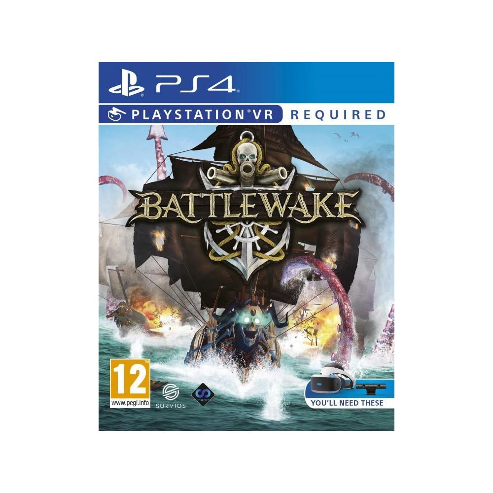 BATTLEWAKE VR PS4 UK NEW