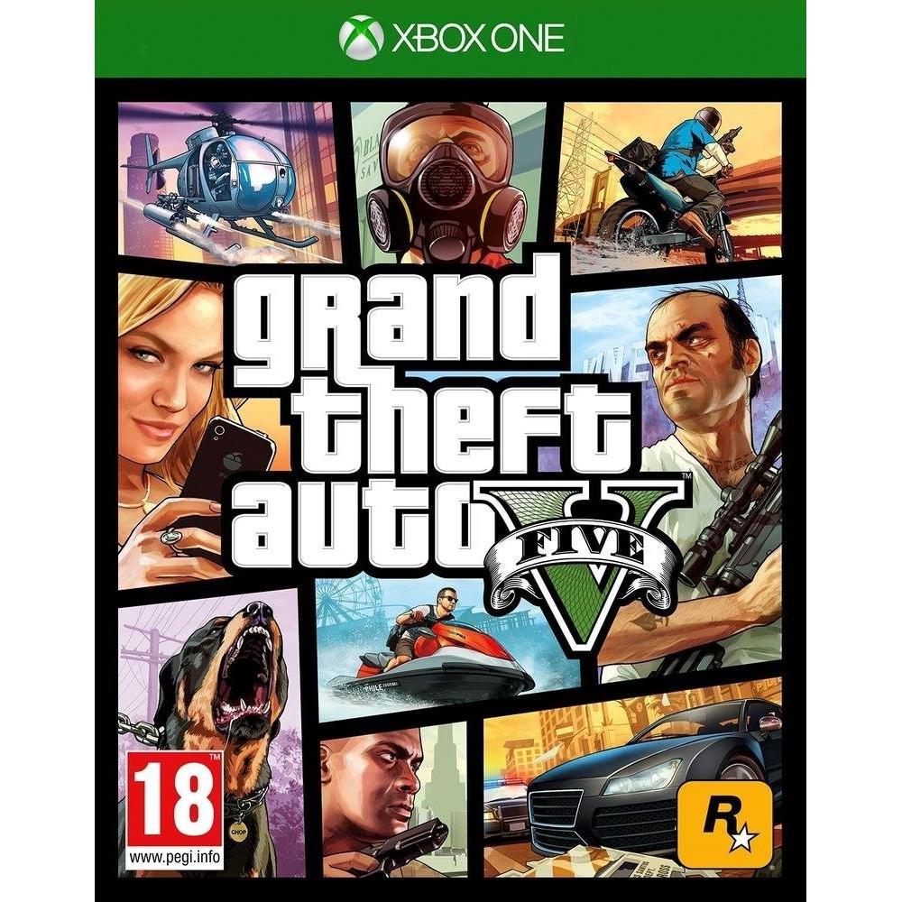 GTA V PREMIUM EDITION XBOX ONE FR NEW