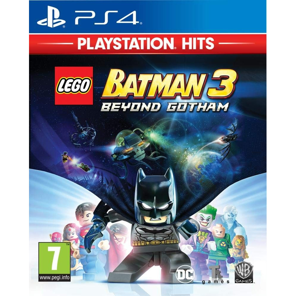 LEGO BATMAN 3 PLAYSTATION HITS PS4 FR NEW