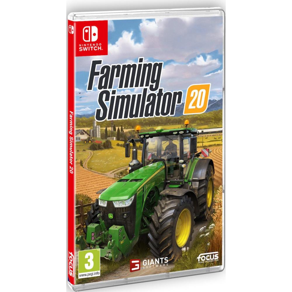FARMING SIMULATOR 20 SWITCH FR OCCASION