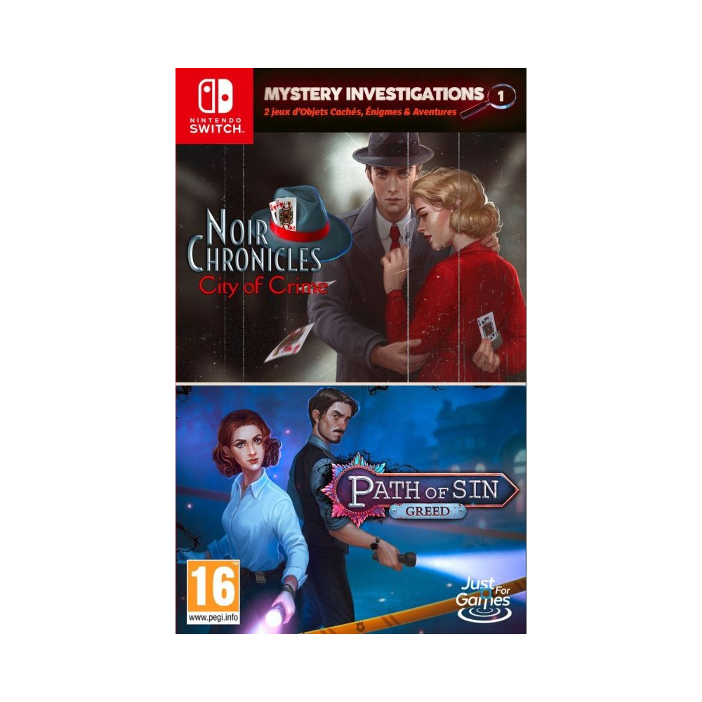 MYSTERY INVESTIGATIONS 1 SWITCH FR OCCASION
