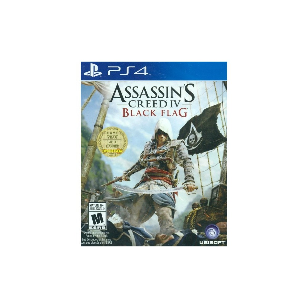 ASSASSIN S CREED IV BLACK FLAG PS4 USA OCCASION