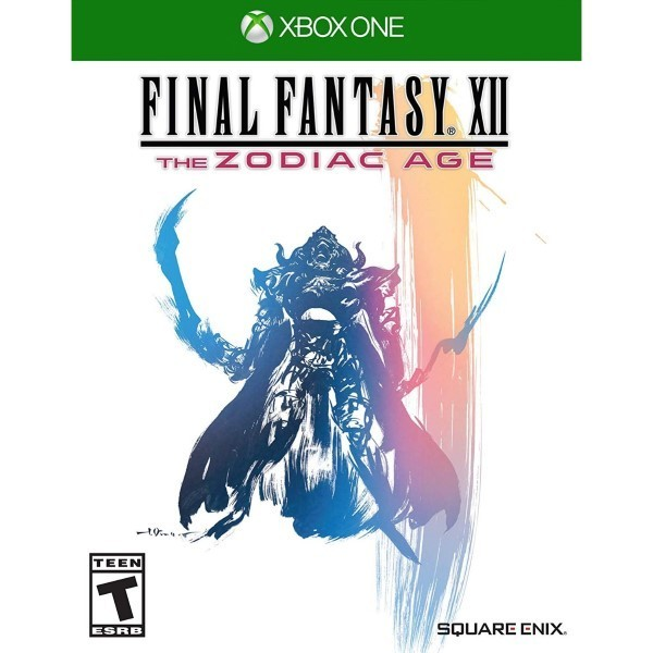 FINAL FANTASY XII THE ZODIAC AGE XBOX ONE US OCCASION