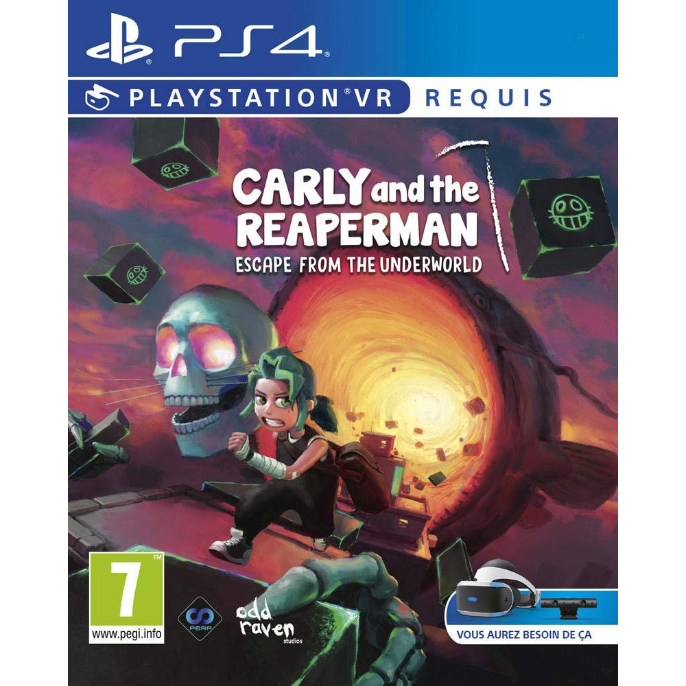 CARLY AND THE REAPERMAN ESCAPE FROM THE UNDERWORLD VR PS4 FR NEW