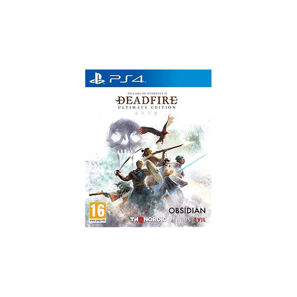 PILLARS OF ETERNITY 2 DEADFIRE PS4 FR OCCASION