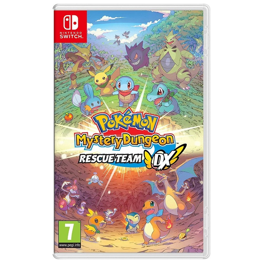 POKEMON MYSTERY DUNGEON : RESCUE TEAM DX SWITCH FR OCCASION