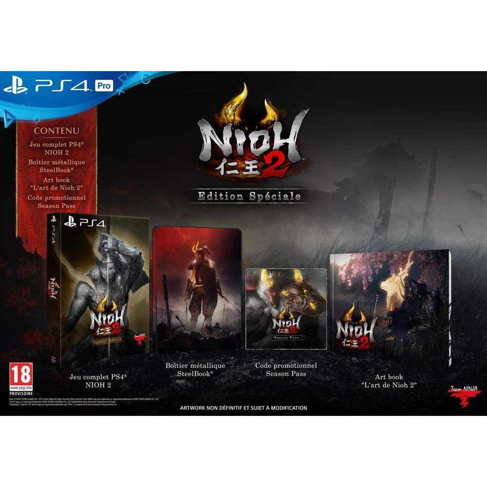 NIOH 2 SPECIAL EDITION PS4 EURO FR NEW