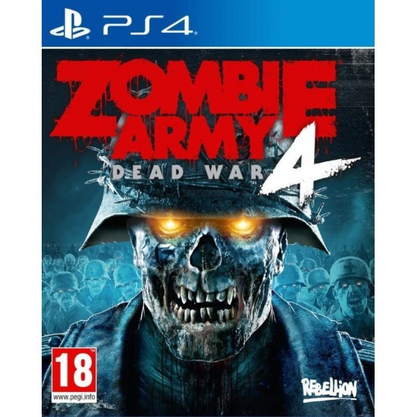 ZOMBIE ARMY 4 DEAD WAR PS4 FR OCCASION