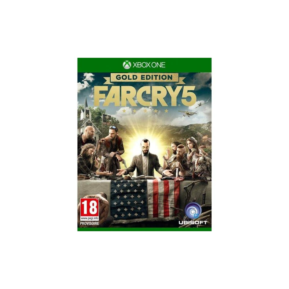 FARCRY 5 GOLD EDITION XBOX ONE UK NEW