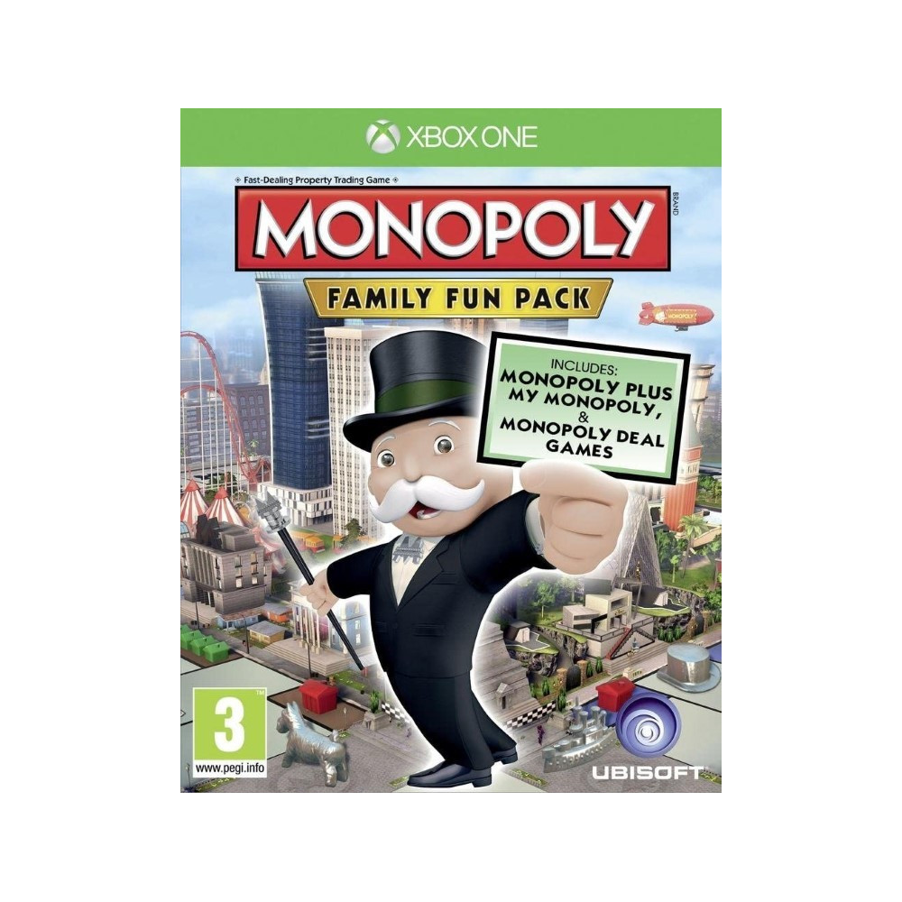 MONOPOLY FAMILY FUN PACK XBOX ONE FR NEW