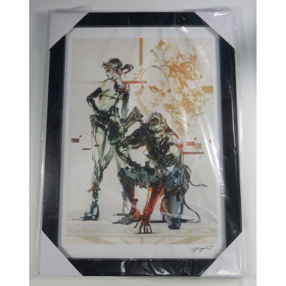 HAPPY KUJI LITHOGRAPHIE (METAL GEAR SOLID V THE PHANTOM PAIN) JPN