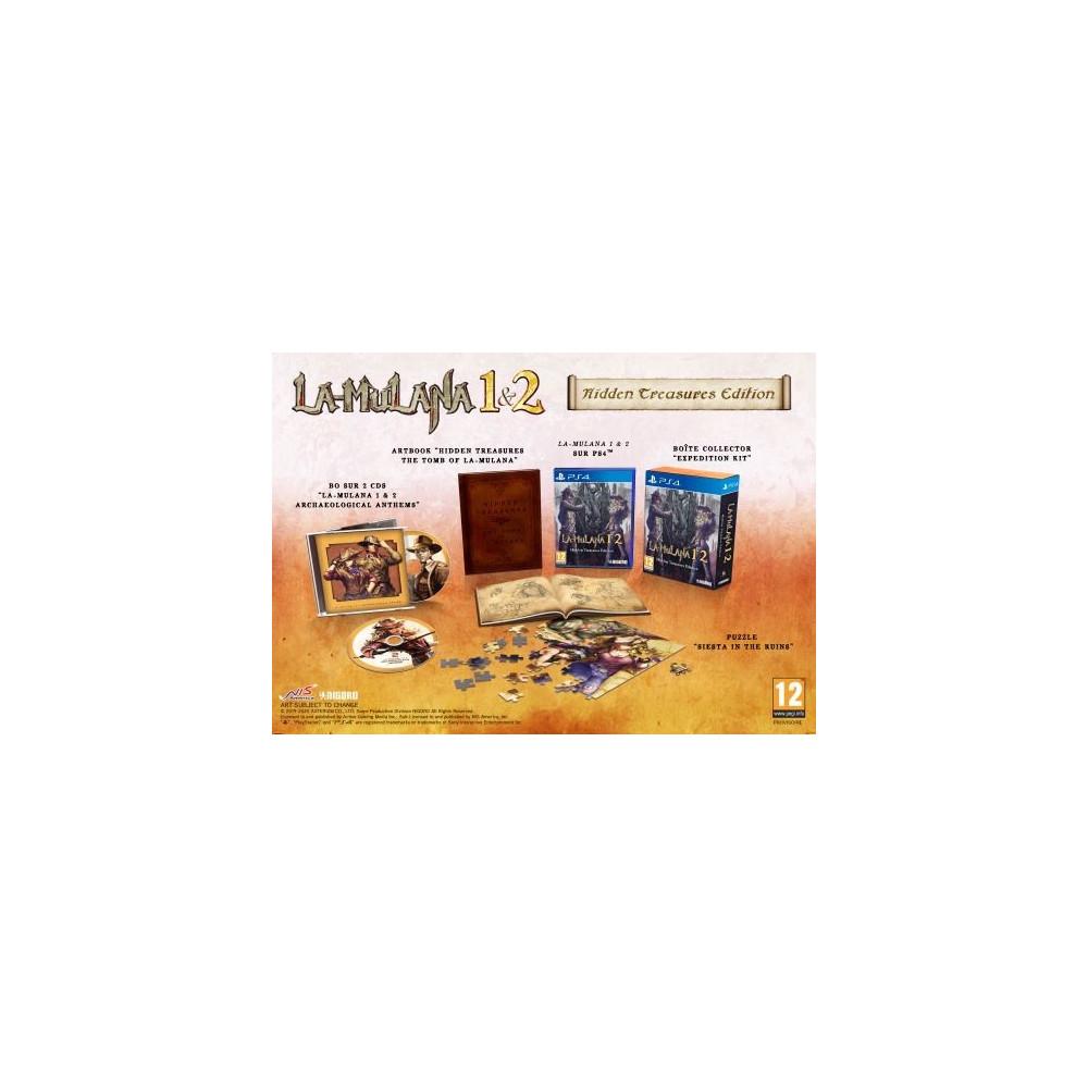 LA-MULANA 1&2 HIDDEN TREASURES EDITION PS4 UK/FR NEW
