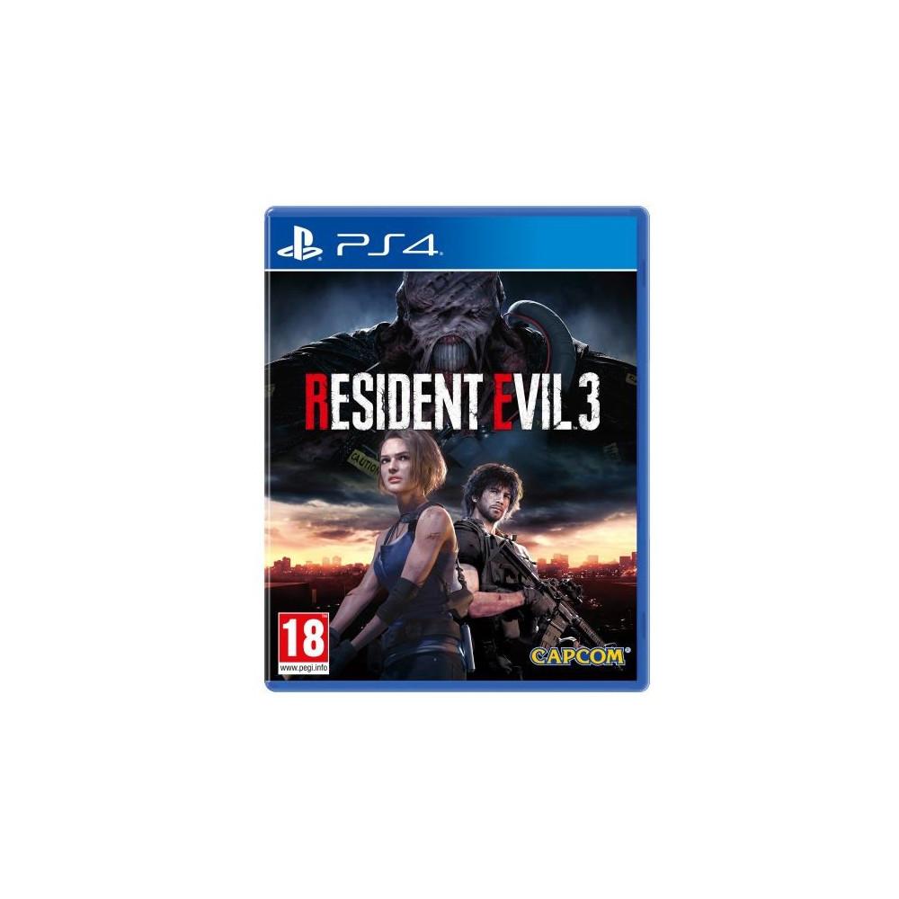 RESIDENT EVIL 3 PS4 FR NEW