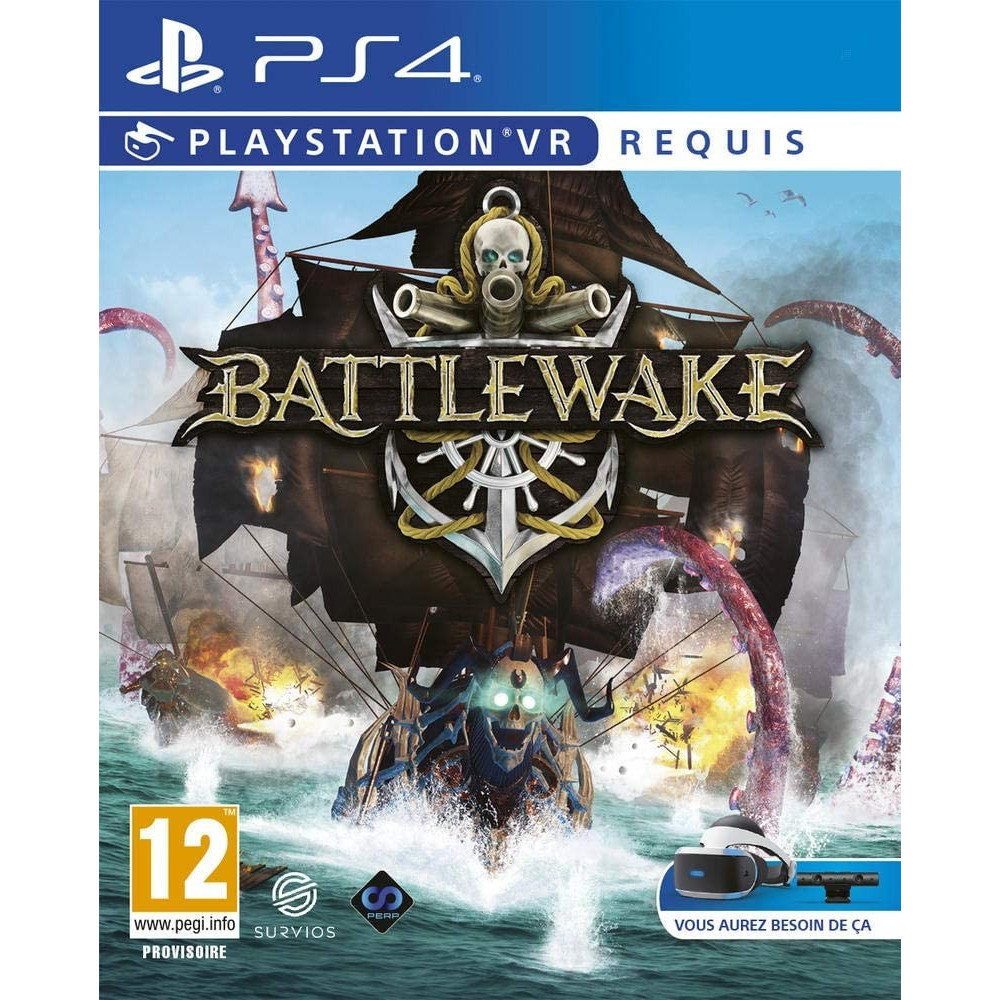 BATTLEWAKE PS4 VR FR NEW