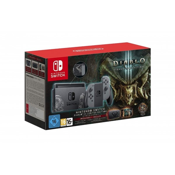 CONSOLE SWITCH DIABLO 3 LIMITED EDITION EURO FR OCCASION