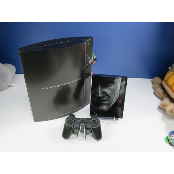 CONSOLE PS3 METAL GEAR SOLID 4 PREMIUM PACK HAGANE LIMITED EDITION NTSC-JPN OCCASION