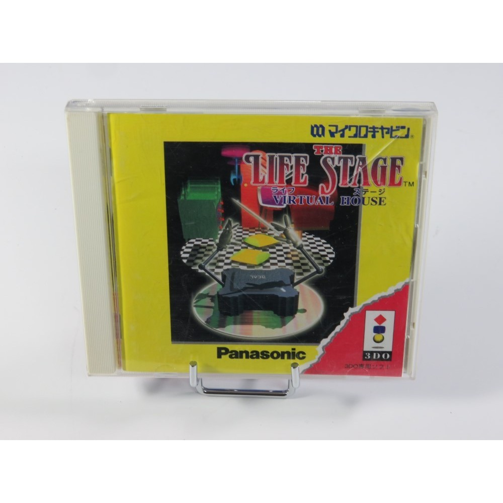 THE LIFE STAGE 3DO NTSC-JPN OCCASION