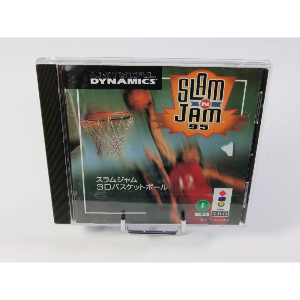 SLAM N JAM 95 3DO NTSC-JPN OCCASION