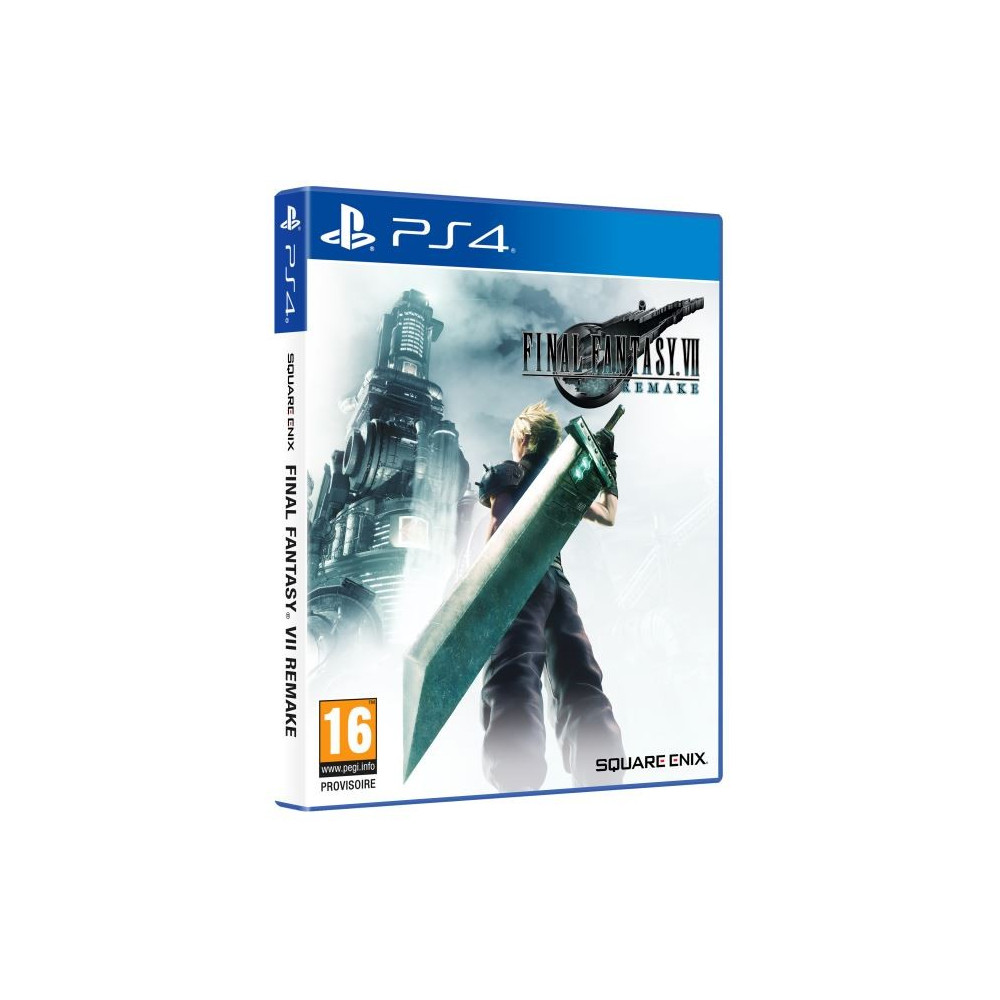 FINAL FANTASY VII REMAKE STANDARD EDITION PS4 FR NEW