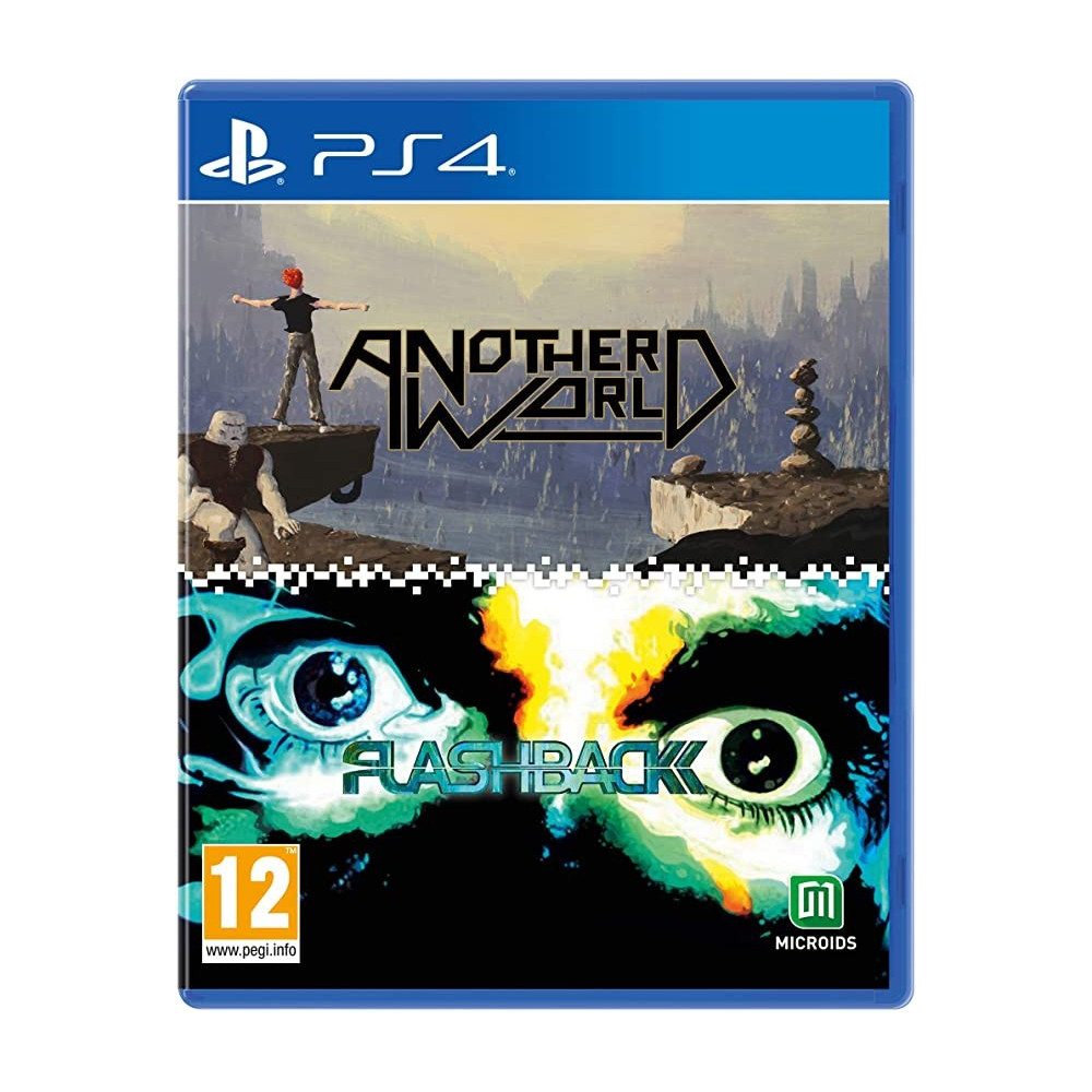 ANOTHER WORLD - FLASHBACK 20TH ANNIVERSARY EDITION PS4 EURO NEW