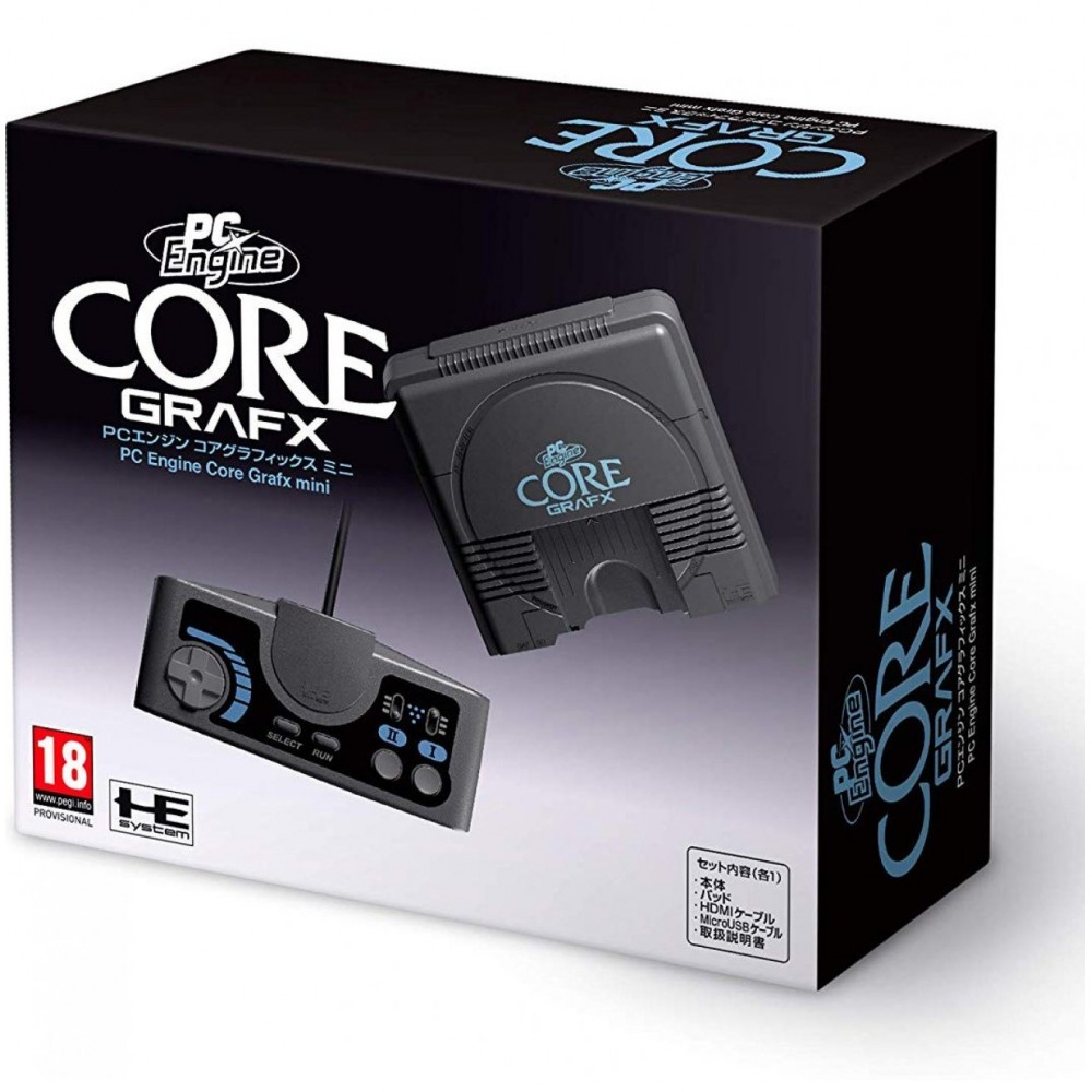 CONSOLE PC ENGINE COREGRAFX MINI EUROPEAN EDITION NEW