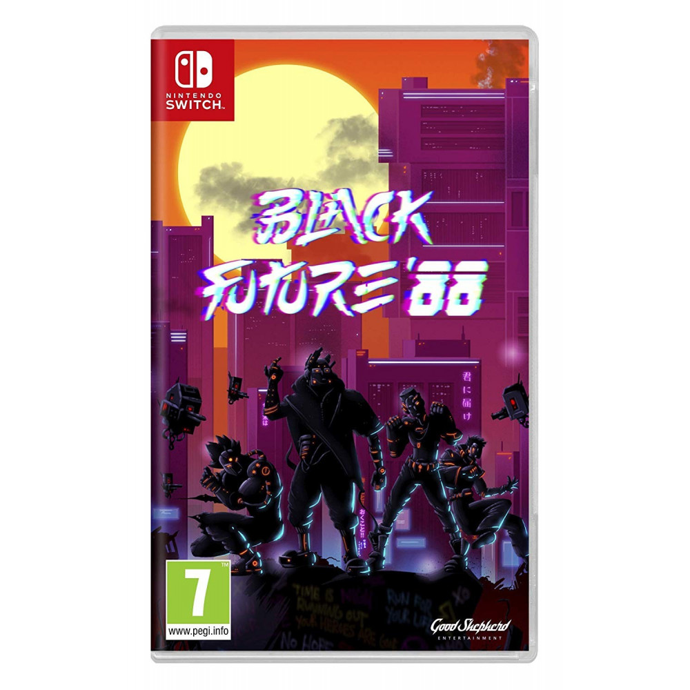 BLACK FUTURE 88 SWITCH FR OCCASION
