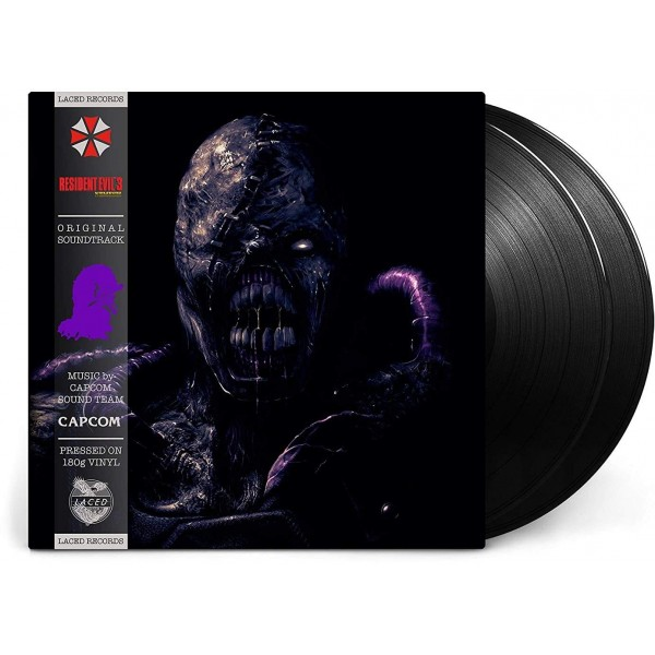 VINYLE RESIDENT EVIL ZERO 3 (LACED RECORDS) NEW