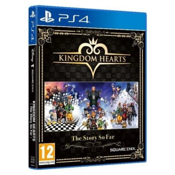 KINGDOM HEARTS THE STORY SO FAR PS4 UK OCCASION