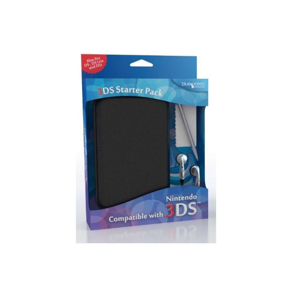 3DS STARTER PACK - BLACK