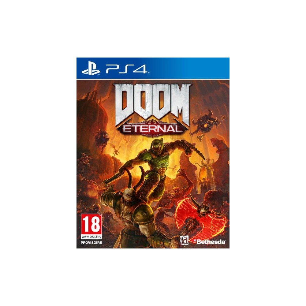 DOOM ETERNAL PS4 EURO FR OCCASION