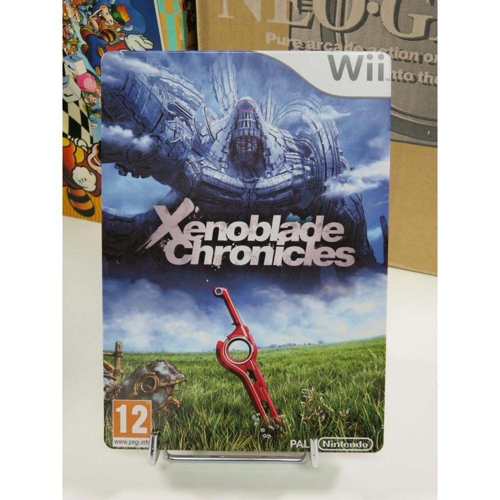 XENOBLADE CHRONICLES LIMITED STEEL BOOK EDITION WII OCCASION