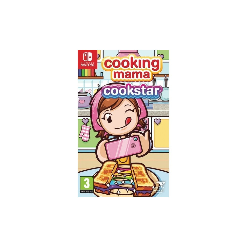 COOKING MAMA COOKSTAR SWITCH UK NEW