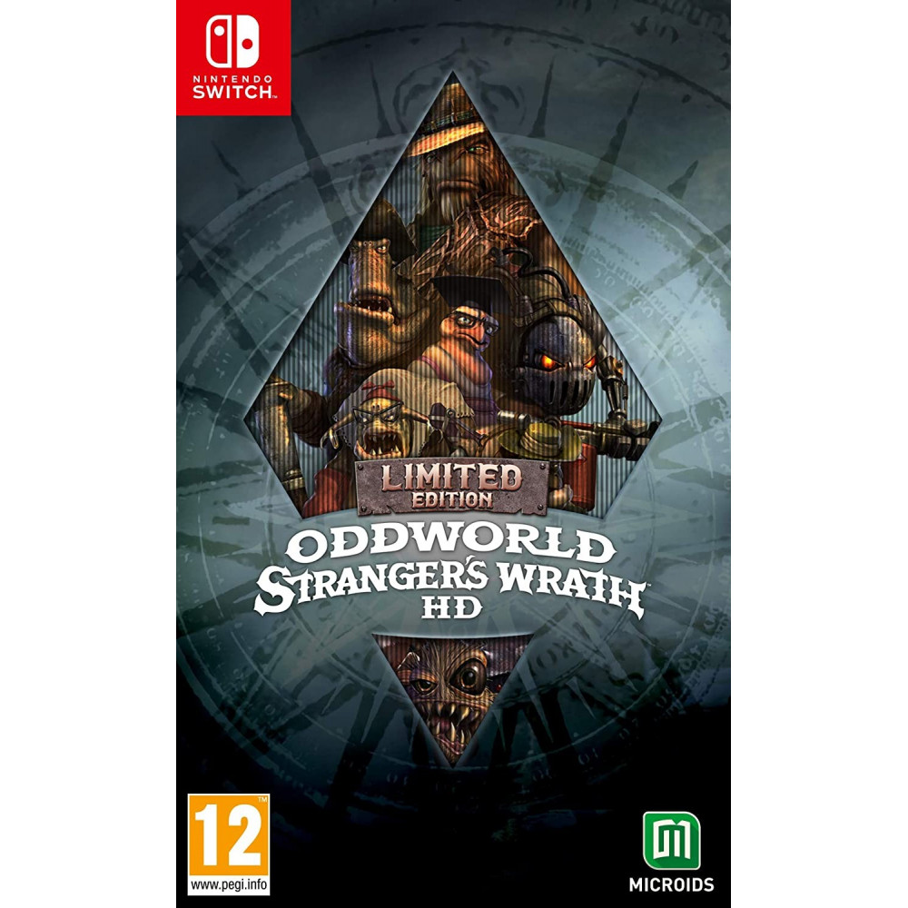 ODDWORLD STRANGER'S WRATH HD LIMITED EDITION SWITCH FR NEW