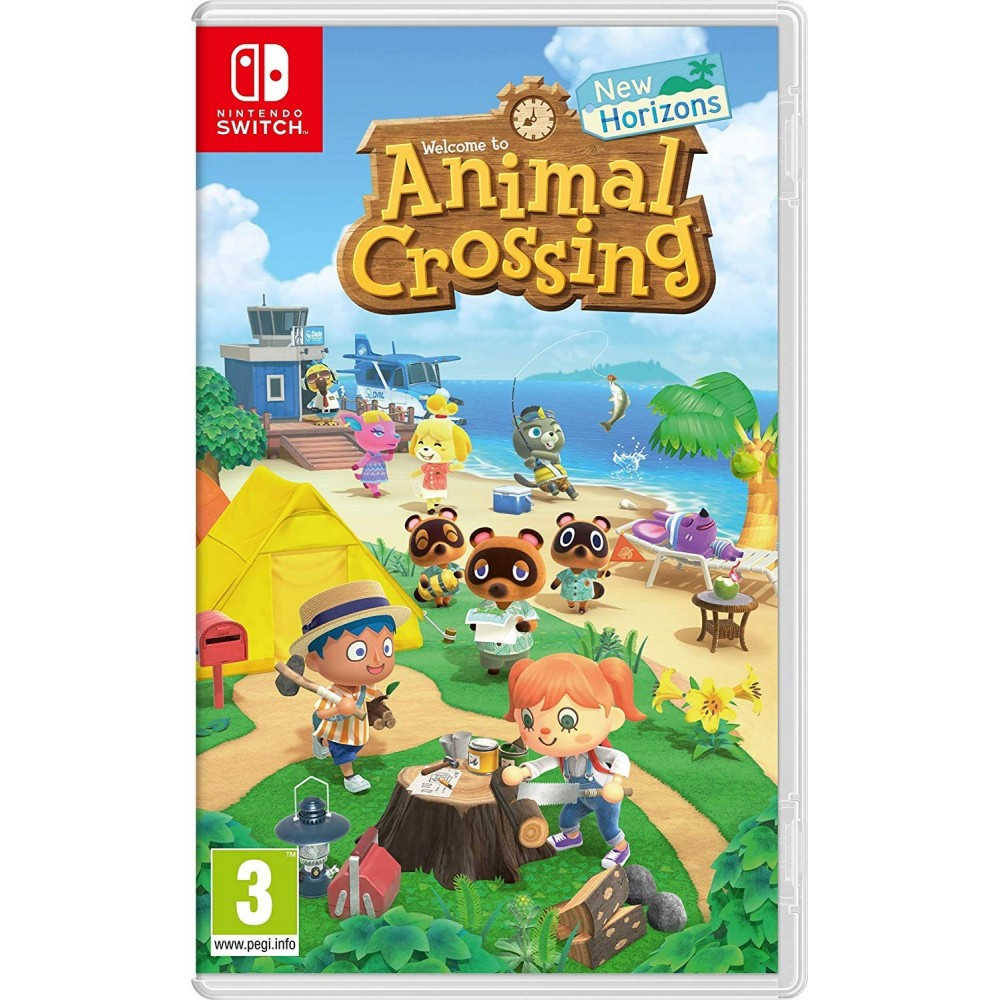 ANIMAL CROSSING : NEW HORIZONS SWITCH FR OCCASION