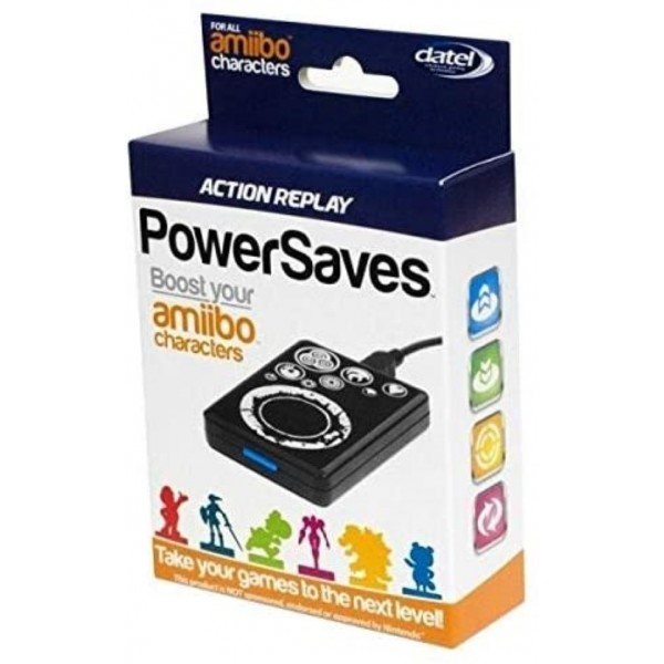 ACTION REPLAY POWERSAVES EURO NEW