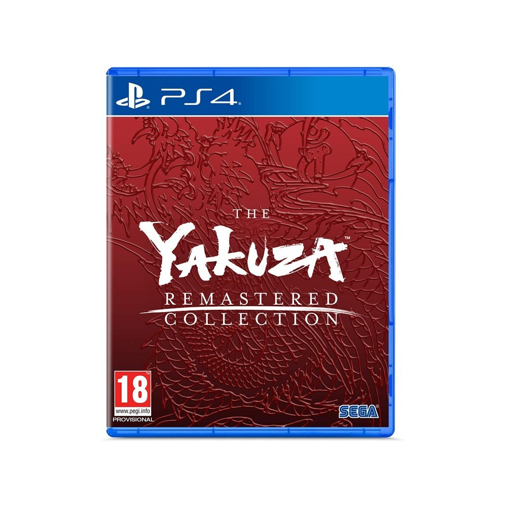 THE YAKUZA REMASTERED COLLECTION PS4 EURO FR NEW