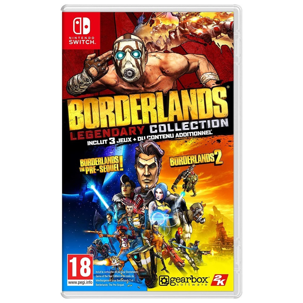BORDERLANDS LEGENDARY COLLECTION SWITCH FR NEW