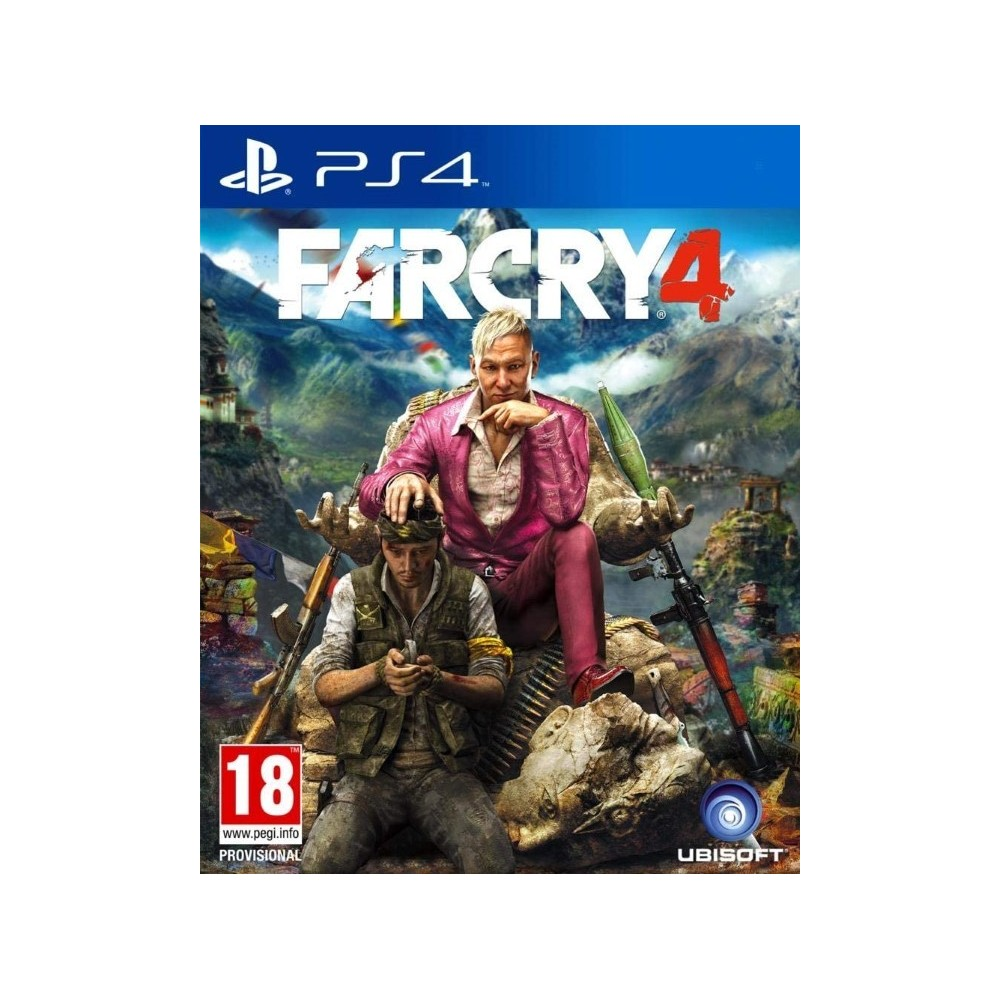 FARCRY 4 PS4 EURO FRANCAIS NEW